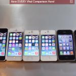 わかりやすい!歴代iPhoneの動作比較