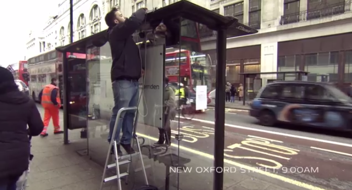 Unbelievable Bus Shelter _ Pepsi Max2