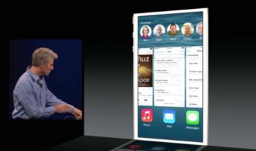 公式発表!iOS8ではテキスト、メッセージ機能が強化される