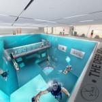 最大40メートル!世界で一番深い屋内プール!