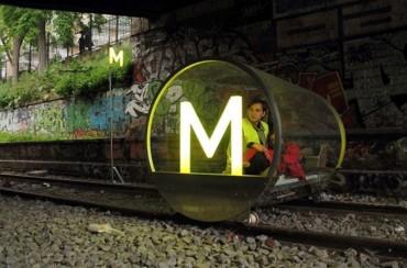 未来の電車はこうなるのかもしれない。
