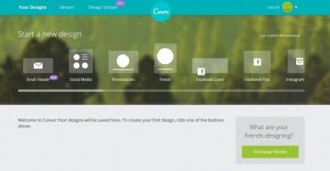 デザイナーじゃない人必見!もうフォトショップもイラストレーターも要らない。 ノンデザイナーのためのオンラインバナー作成サービス canva.com