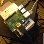 Raspberry pi 2 で監視カメラをつくってみた