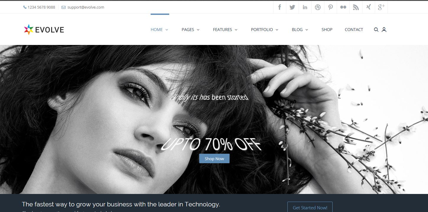 2015-08-11 09_55_25-Dynamicpress _ Theme_ Evolve - Internet Explorer, enhanced for Bing and MSN