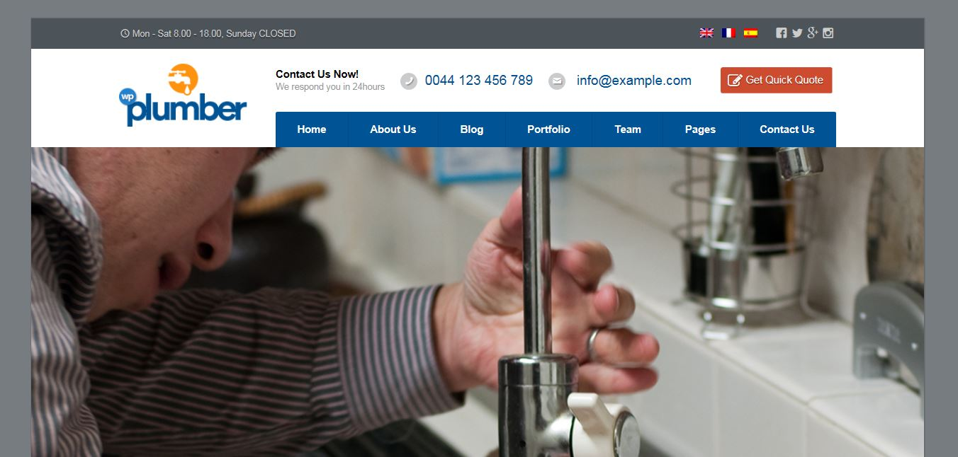 2015-08-11 10_25_12-Plumber _ Building & Construction Business Theme Preview - ThemeForest - Interne